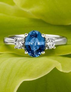 Something blue.