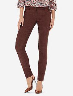 Drew Herringbone Skinny Pants