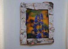 Porta-retrato rústico também pode ser usado em ambientes com décor de outros estilos (Foto: gardenmama.typepad.com)