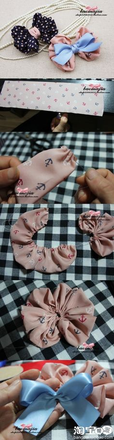 .cute fabric bow!!