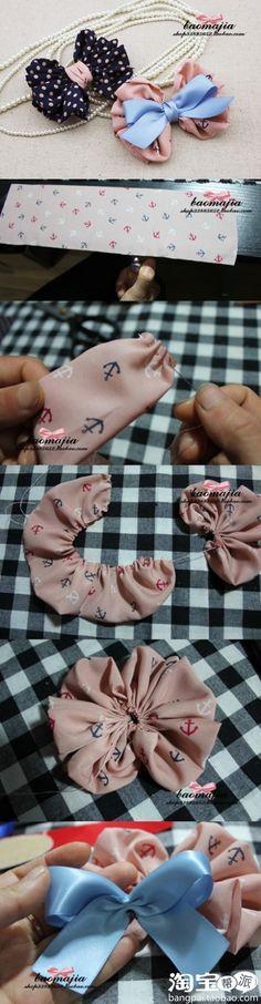 .cute fabric bow!!