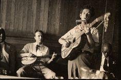 Pete Seeger, Woody Guthrie, 1950