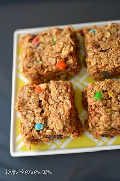 Chewy Monster Granola Bars