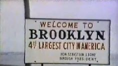 Sign from Welcome Back Kotter. I named my daughter after this..fell in love with the name Brooklyn.