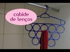 Como fazer: cabide de lenços - YouTube