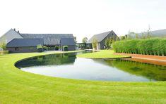 Vacatures bij Hendriks Hoveniers | Hendriks Hoveniers Water Features, Garden Landscaping, Garden Design, Golf Courses, Aqua, Exterior, Mansions, Landscape, House Styles