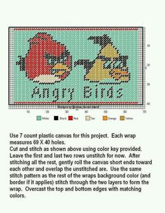 WRAP * ANGRY BIRDS by DESIGNS BY @NDREA