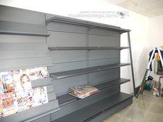 Instalación de Gasolinera REPSOL, hecha po MUEBLES TALEGO, Estanterías de comercio. Instalaciones comerciales Al mejor precio en mueblestalego.com