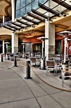 Outdoor Patio | AZN | Azian Cuizine Restaurant at Mercato in North Naples | Naples, Florida