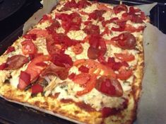 Trim Healthy Mama Friendly Pizza Crust