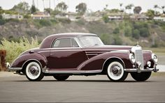 1956 Mercedes-Benz 300Sc Coupe to be auctioned off at Pebble Beach this summer. Get pre-approved with Premier Financial Services today. #PebbleBeach #Auction #MercedesBenz