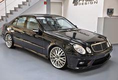 Mercedes-Benz E-Klasse Prior Design Body Kit Mercedes Benz Sedan, Mercedes Models, Mercedes E Class, Benz E Class, Mercedes Benz Cars, 4 Wheels Motorcycle, Mercedes Black, Merc Benz, E63 Amg