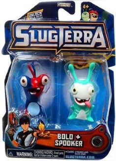 Amazon.com: Slugterra SERIES 2 Mini Figure 2-Pack Bolo & Spooker [Includes Code for Exclusive Game Items]: Toys & Games