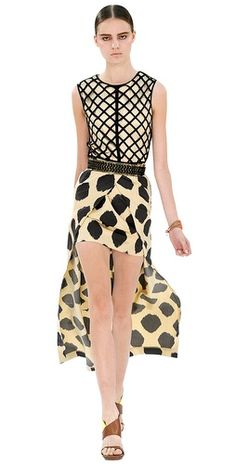 Coveting this dress by sass & bide. Long skirt is detachable!