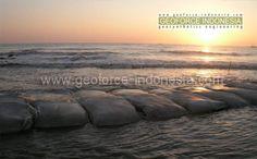 Geobag Breakwater Indramayu