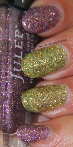 Julep Claudia and Julep Queen Anne!  http://talesofcoffeelacquerandbeauty.blogspot.in/2014/08/julep-queen-anne-claudia-swatches.html