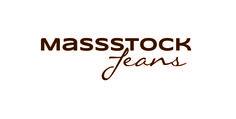 Jeanslogo der Firma MASSSTOCK Jeans, Business, Clothing, Gin, Denim Pants, Jeans Pants