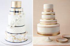 Metallic Wedding Cakes - Part 3 - Belle The Magazine