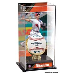 Max Scherzer Washington Nationals Fanatics Authentic 2017 MLB All-Star Game Gold Glove Display Case with Image