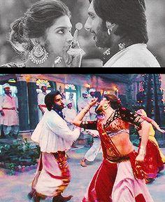 ram leela Goliyon Ki Raasleela Ranveer Singh Deepika Padukone Deepika Ranveer, Deepika Padukone Style, Ranveer Singh, Bollywood Songs, Bollywood Actress, Indian Man, Indian Style, Dipika Padukone, Deep Set Eyes