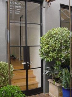 French Steel Doors.