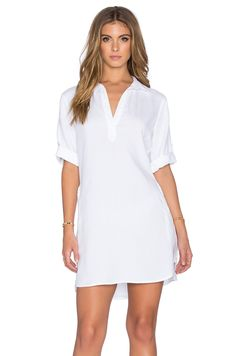 BELLA DAHL A-LINE SHIRT DRESS. #belladahl #cloth #dress