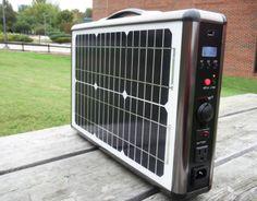 Super-Portable Solar Briefcase Lets You Carry Solar Power Everywhere You Go