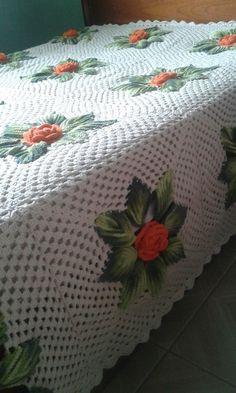 Crochet Bedspread, Love Crochet, Bed Spreads, Crochet Patterns, Mary, Blanket, Professional Outfits, Crochet Kids Hats, Bedspread