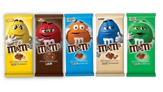 M&M's has unveiled a new chocolate bar format and a new hazelnut flavour, which will both become permanent additions to the M&M's product portfolio. Peanut M&ms, Peanut Candy, M&m Chocolate Bar, Chocolate Candy Brands, Delicious Chocolate, M&s Chocolates, Nutella, M M Candy, Almond Bars