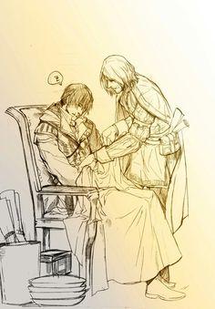 Ezio x Leonardo