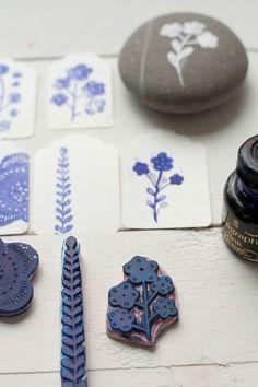 Painted stones ♥ Piedras pintadas | Ishtar Olivera