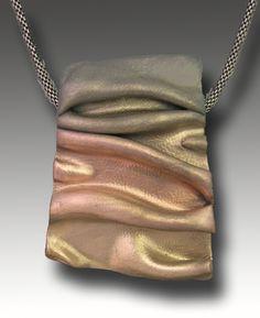 Hadar Jacobson metal clay necklace