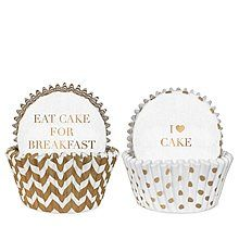 Delight Department White Gold Cakevormpje - Set van 50