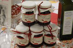 Le nostre confetture di ciliegia romagnola - Antica Fiera della Canapa #Gambettola 22 Novembre 2014 #tenutaneri