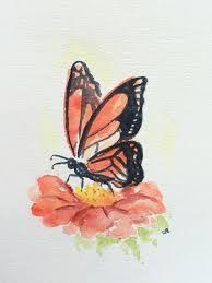 Resultado de imagen para easy watercolor butterfly