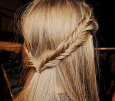 Fish tail braids
