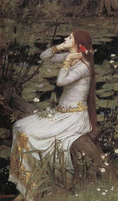 John William Waterhouse by hauk sven, via Flickr.This is another i have,justr love his work.Very dreamey...