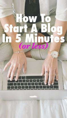 This is a complete walkthrough of how to get your website/blog up and running in no time.
