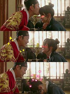 Splash splash love kdrama drama couple love They are soooo pretty omg^^^^^