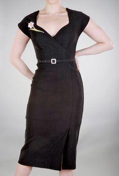 Love 50s inspired dresses for work.
