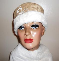 Dr. Zhivago Hat - Reserved for MOE Millinery Challenge - Movie Theme. $52.00, via Etsy.