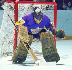 Rogie Vachon - Hockey Hall of Fame ( La Kings Hockey, Women's Hockey, Baseball, Nhl Shop, King Picture, King Sport, Hockey Hall Of Fame, Red Wings Hockey, Goalie Mask