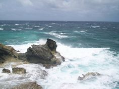 "Isla Mujeres, Mexico: On the ""Cliff of the Dawn"" on Isla Mujeres. This the eastern most point in all of Mexico. It is on the eastern tip of the island which is off the coast of Cancun."
