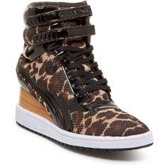 e8bddc2c Designer Clothes, Shoes & Bags for Women   SSENSE. Cuñas De Leopardo Zapatillas. PUMA MY-77 Leopard ...