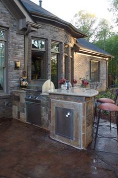 Outdoor Kitchen...one day