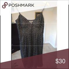 Kristin Davis black dress 💖 Only used once to dinner. Dresses High Low