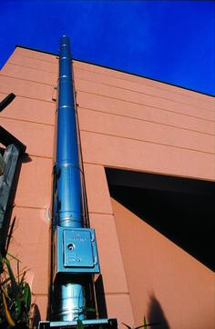Industrie Aussenwand-Abgasanlage @westaflex