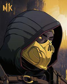 Escorpion Mortal Kombat, Mortal Kombat Ultimate, Claude Van Damme, Superman Art, Mileena, Warrior Spirit, Animation Reference, Game Character Design, Video Game Art