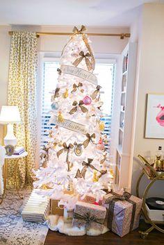 White Christmas Tree, Chronicles of Frivolity, Katey McFarlan