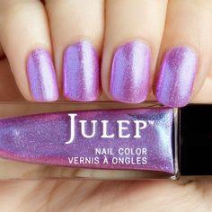 Julep - Regina (Bombshell) Nebula pink iridescent chrome